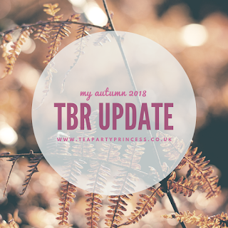 My Autumn 2018 TBR update