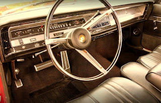 1967 Chrysler 300 Convertible Interior Cabin