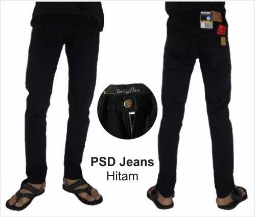 PSD Jeans Hitam Pekat