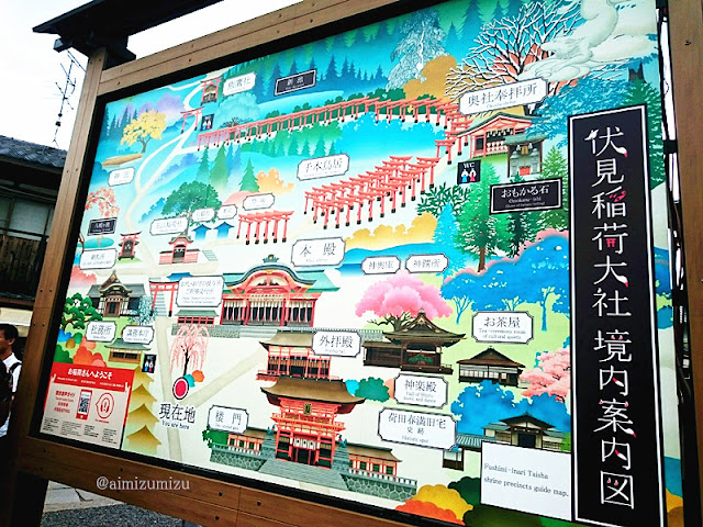 Akses Menuju Fushimi Inari Taisha