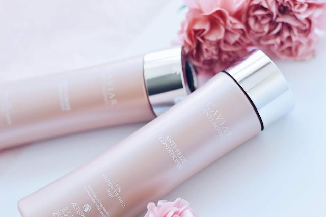 Alterna Caviar Anti-Frizz šampoon palsam kahused juuksed arvustus ilublogi