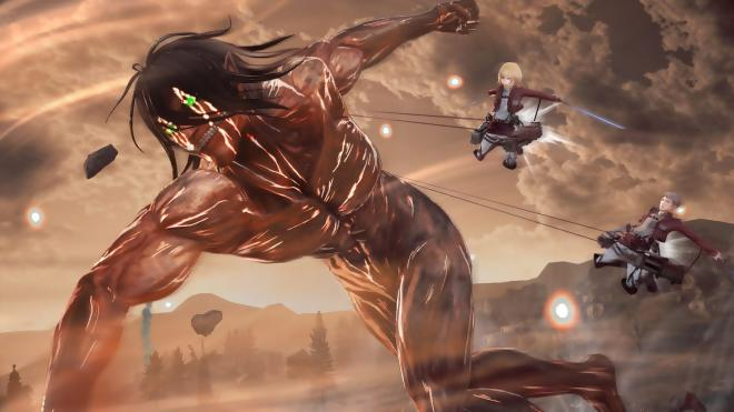 Attack on Titan 2 : Game Reveals New Action And Characters.