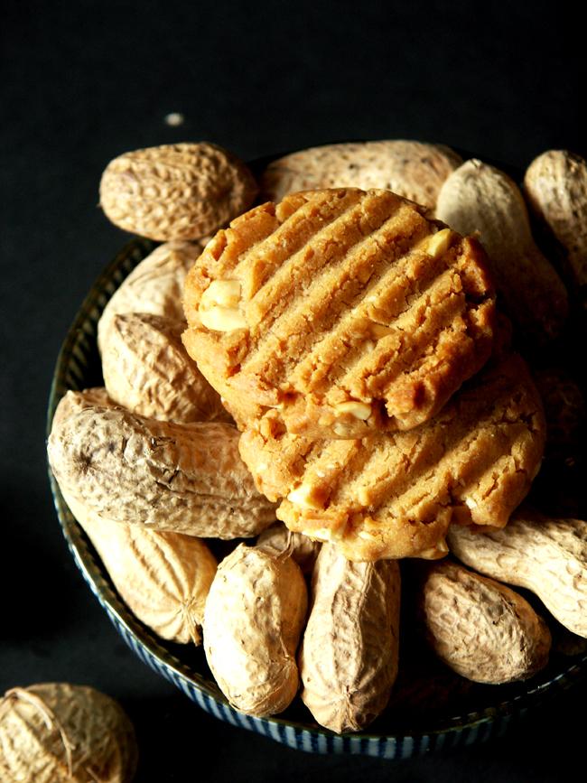 ciasteczka fistaszkowe z masłem orzechowym