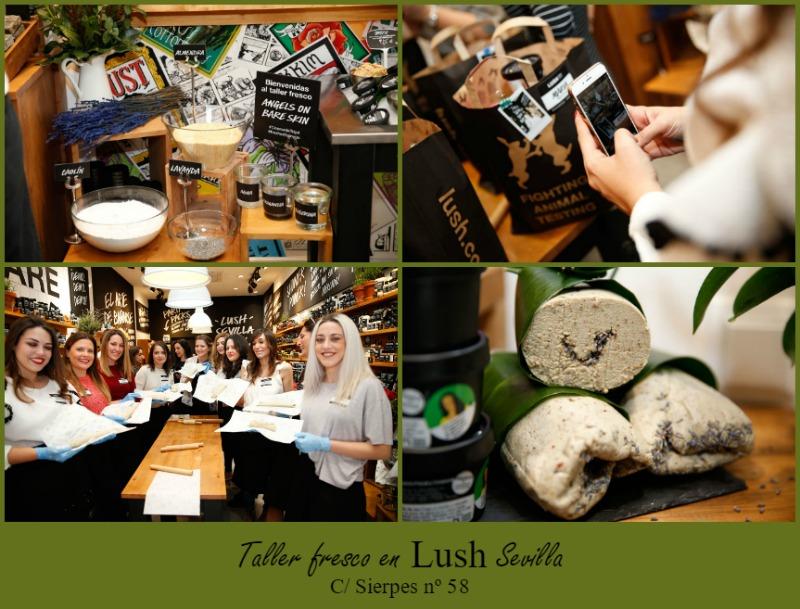 Cosmetiktrip en Lush Sevilla
