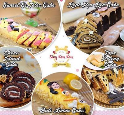 Sing Ken Ken Cake Oleh Oleh Bali Ala Denada