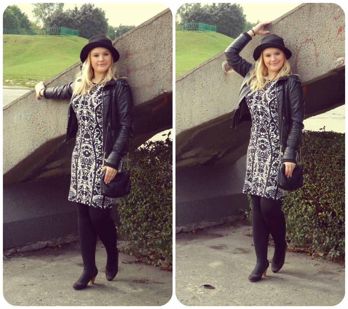 sukienka-czarno-biała