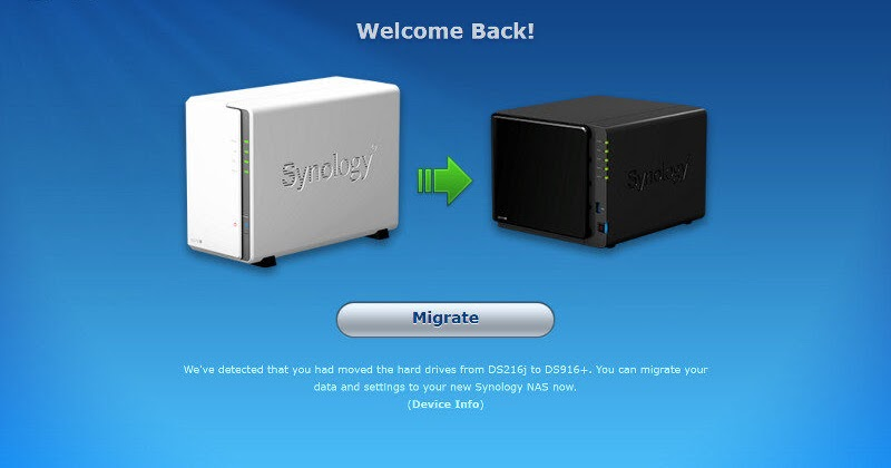How to migrate between Synology NAS | Ddevices com