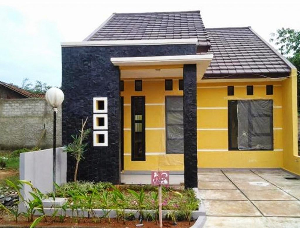 Contoh Gambar Rumah Minimalis 1 Lantai Type 36