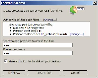 Cara Melindungi USB Flashdisk Anda Dengan Kata Sandi - ROHOS1