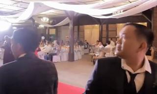 Πανικός σε γάμο - Δείτε το λόγο στο βίντεο