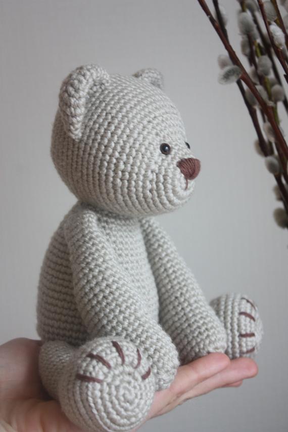 Happyamigurumi New Teddy Bear Pdf Pattern