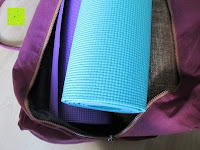 füllen: #DoYourYoga Yogabag »Ghanpati« / Yoga mat bag made of high-class Canvas, for EXTRA THICK yogamats / pilatesmats up to 186 x 62 x 1,5 cm, available in 9 fantastic colours.