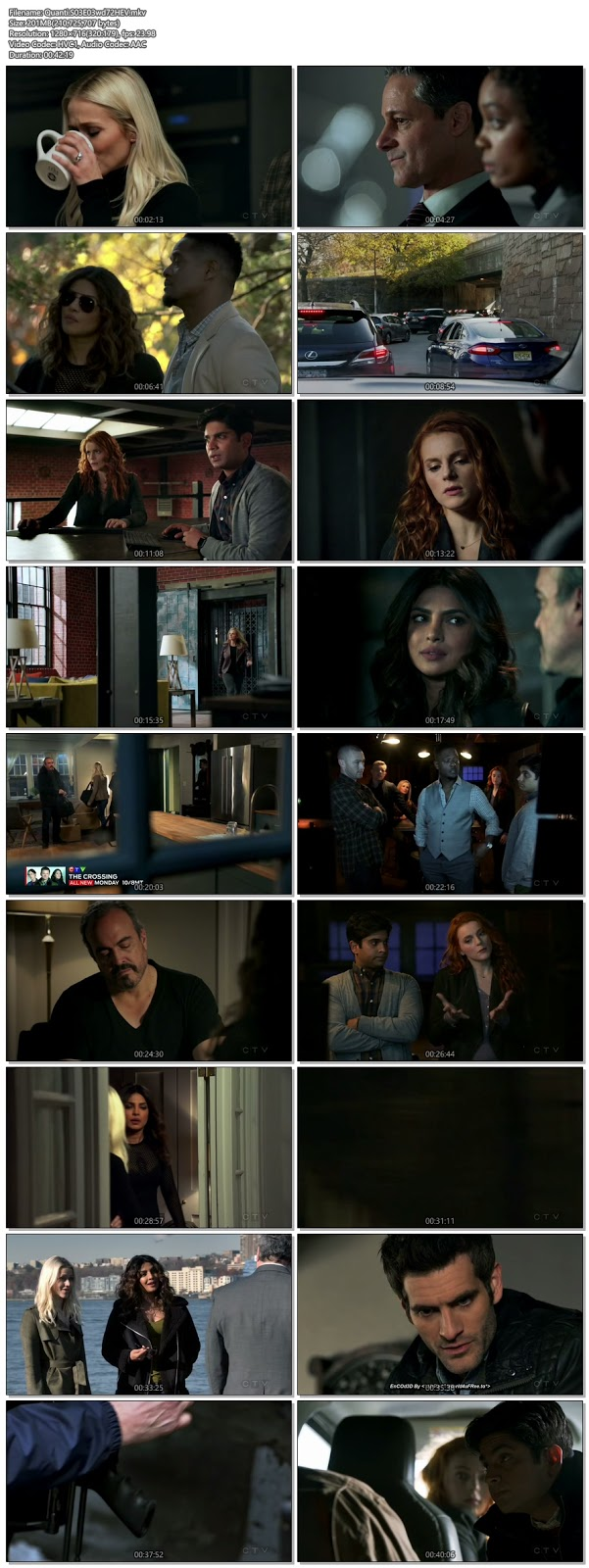 Screenshots Of English Show Quantico Season 03 Episode 03 2018 WEB-DL 720P 300MB
