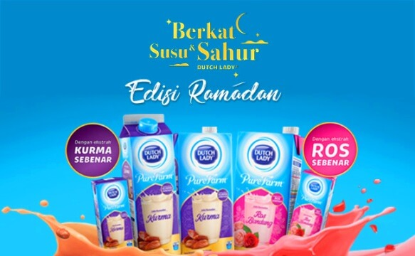 Promotion berkat susu & sahur Dutch Lady 2019.
