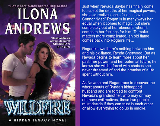 Excerpt from Wildfire (Hidden Legacy #3) by Ilona Andrews