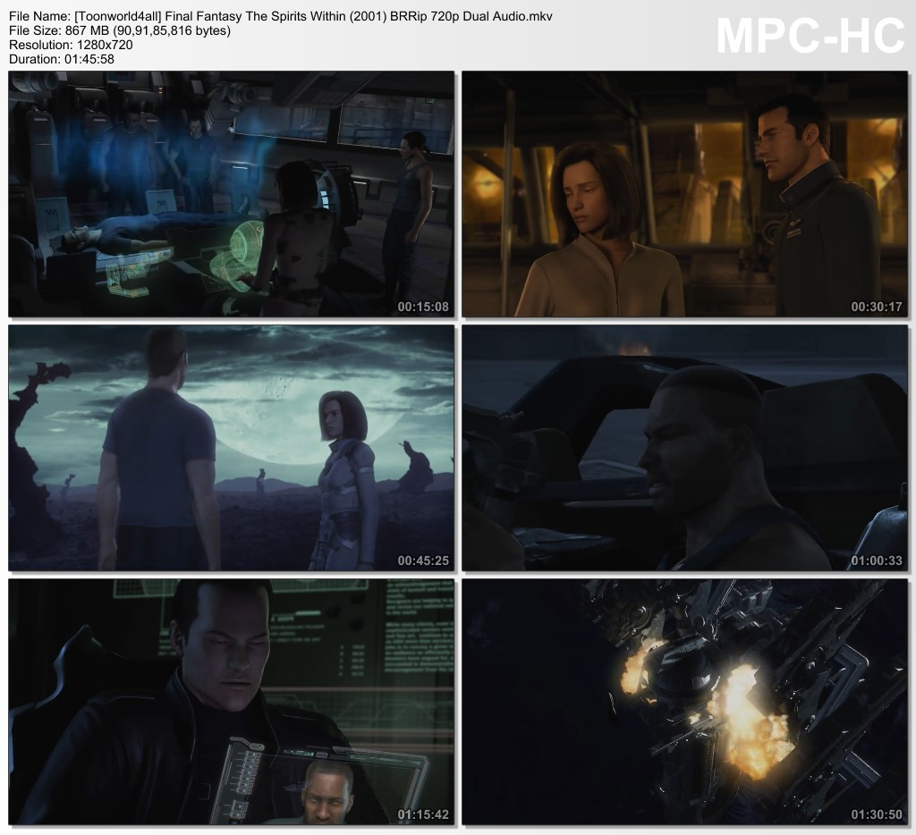 final fantasy the spirits within (2001) movie download in hindi
