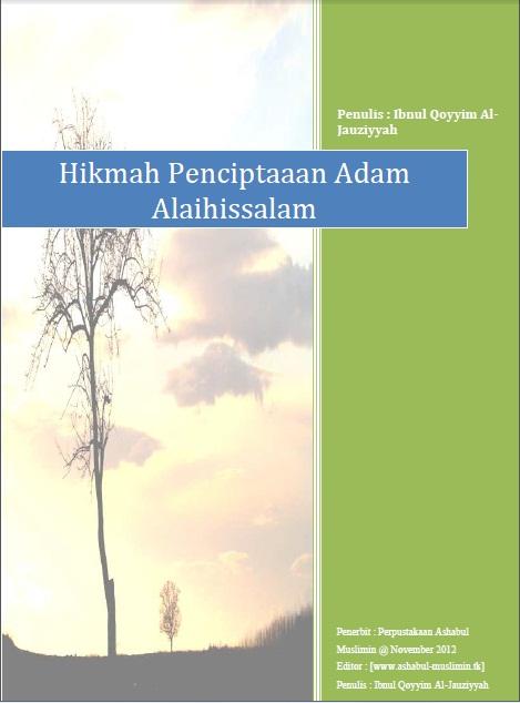 Download Ebook Rahasia Allah dalam Menurunkan Adam ke Bumi