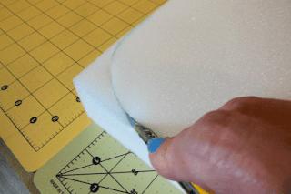 cutting foam cushion | craft.outsideofablog.info