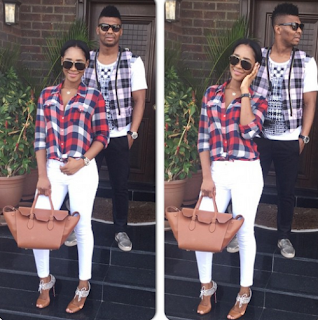 Kalu Uche & Stephanie Kalu Stylish Pic