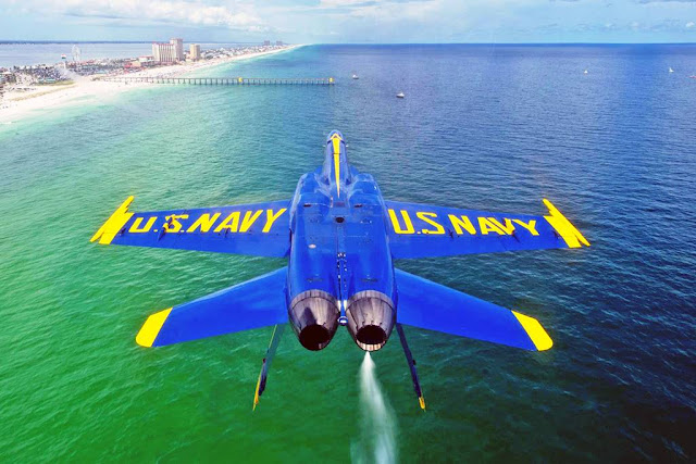 NAS Pensacola Blue Angels Air Show