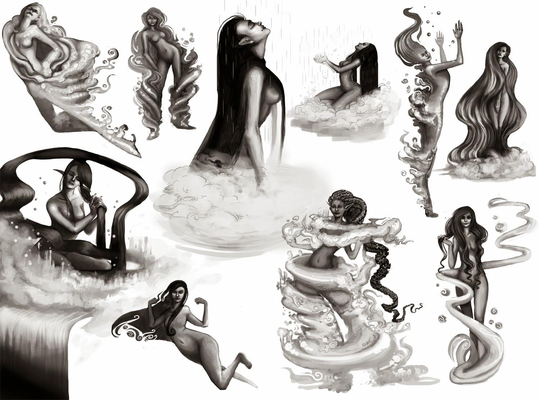Samantha Niemczyk: More Water Nymphs (28.05.2014)