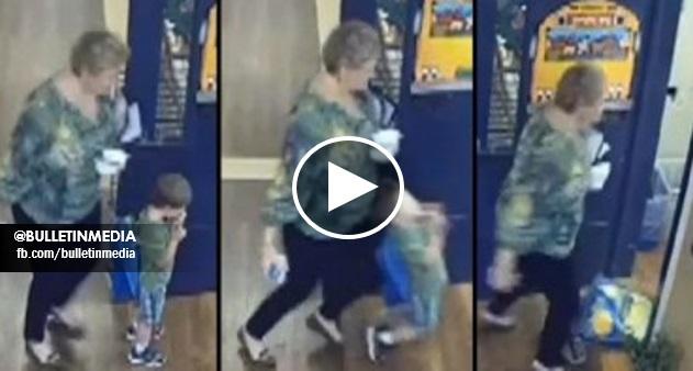 VIDEO - Guru dipecat, sengaja tolak kanak-kanak OKU 4 tahun sampai tersembam