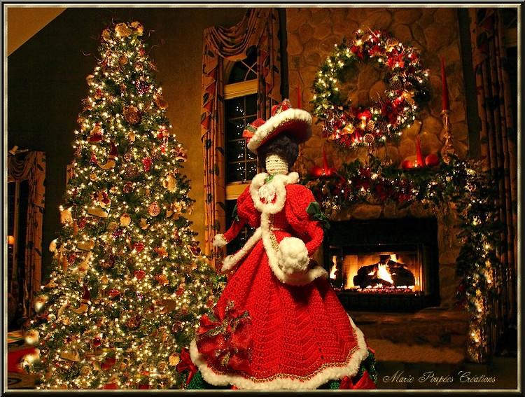 Poupée de Noël