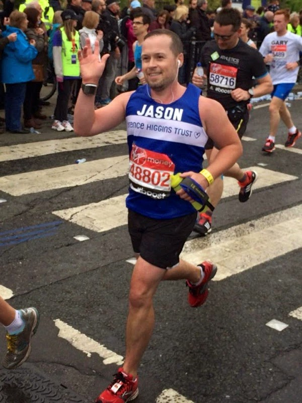 Terrence Higgins Trust London Marathon charity runner