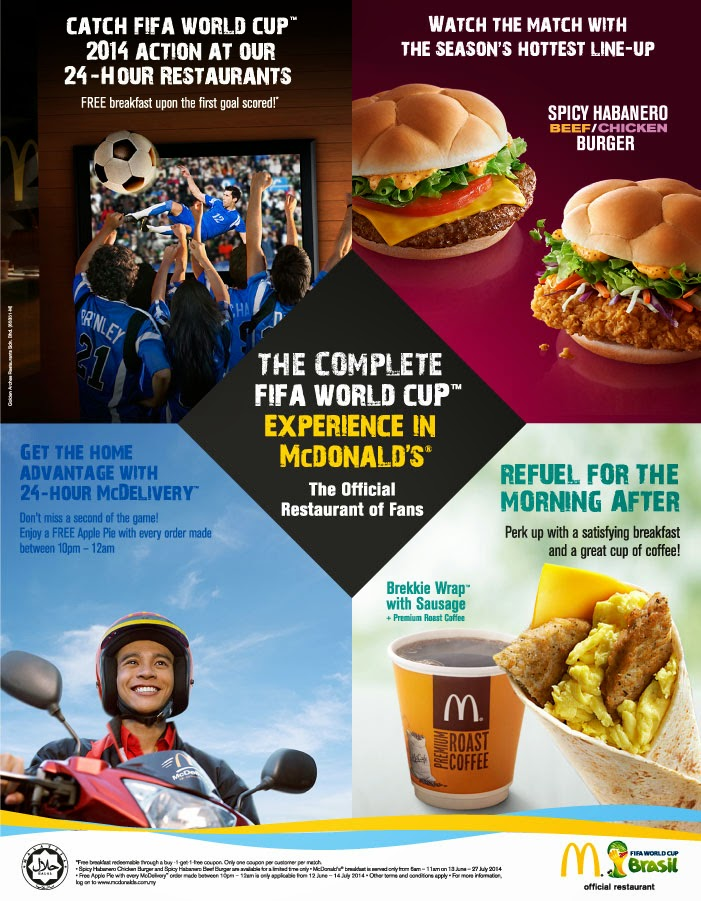 BestLah: McDonald's - Watch FIFA World Cup 2014 & Enjoy ...