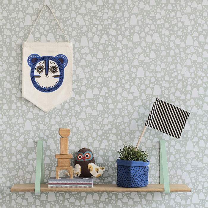 wall flag with a Billy Bear ferm living A/W 2014 for kids