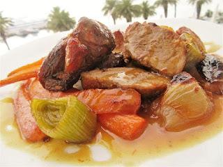 Pork in ginger sauce