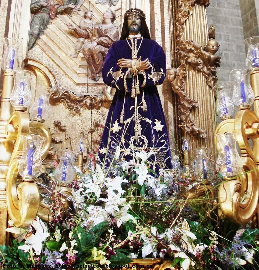 Jesús de Medinaceli. (Copia) iglesia de San Francisco. León. Foto G. Márquez.