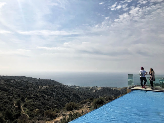 View from Aphrodite Hills Resort in Cyprus
