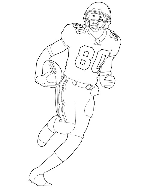 Blank Football Helmet Coloring Page Getcoloringpages  Pages