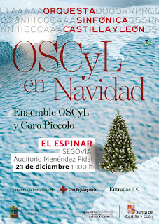 Concierto de Navidad Ensemble Orquesta Sinfónica de Castilla y León (OSCyL)