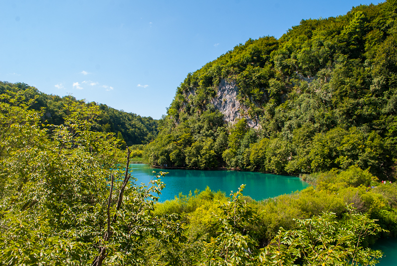 image of a lake at Plitvice Lakes National Park