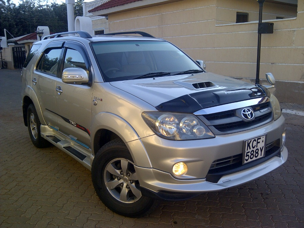 NairobiMail: TOYOTA FORTUNER 2008 TRD LIMITED EDITION 3000cc DIESEL