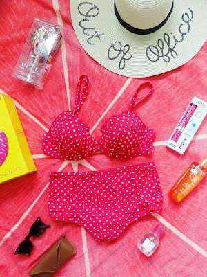 polka dot bikini set  Pour Moi