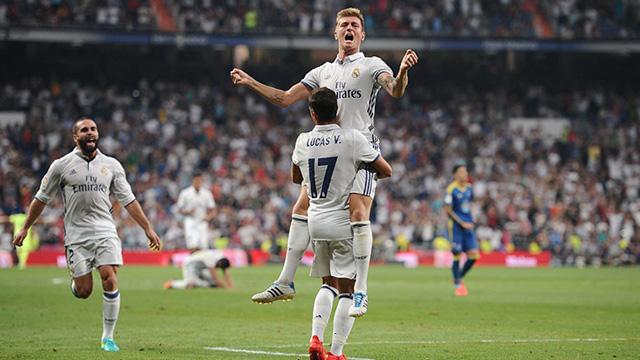 [Video] Cuplikan Gol Real Madrid 2-1 Celta Vigo (Liga Spanyol)