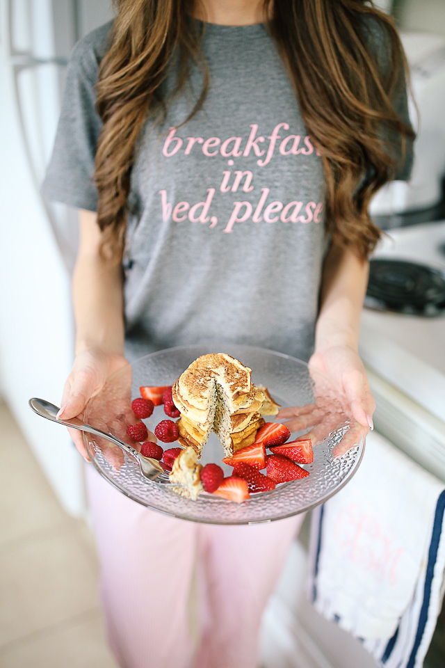 3-Ingredient Protein Pancakes