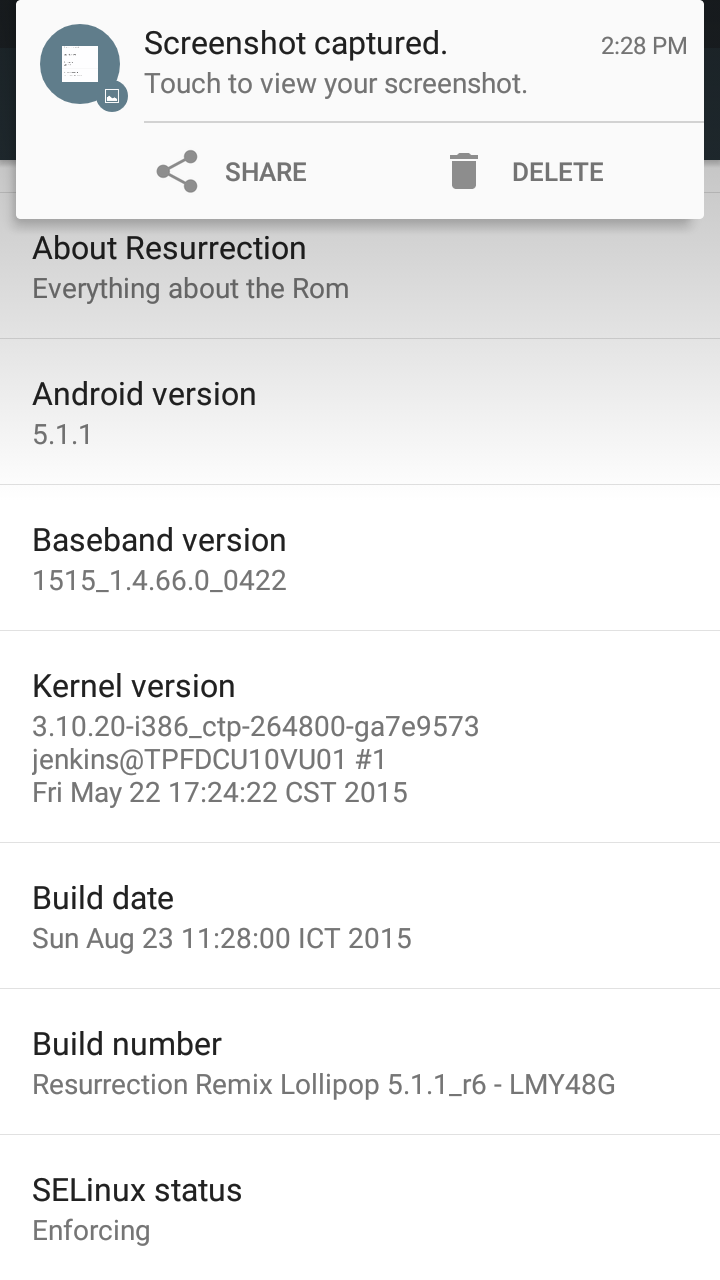 ROM] Resurrection Remix V5 5 4 for Zenfone 5 by quanganh2627 ~ Asus
