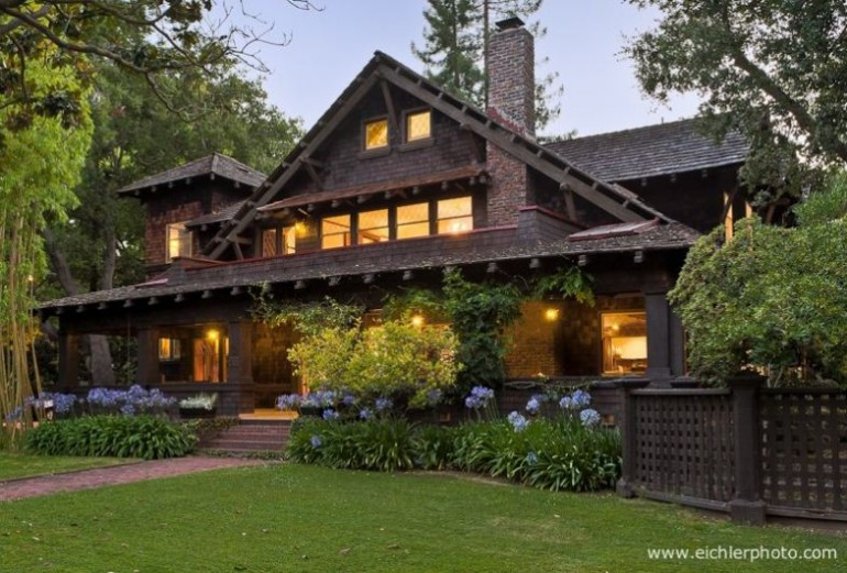 American houses craftsman style for Craftsman style homes for sale in california