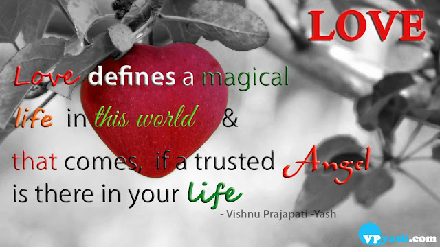 Love defines a magical life