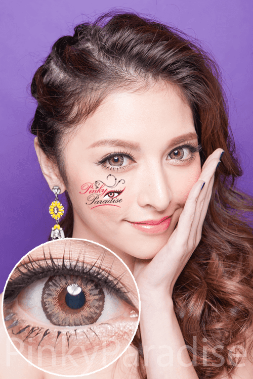 G&G Aurora Yellow Circle Lenses (Colored Contacts)