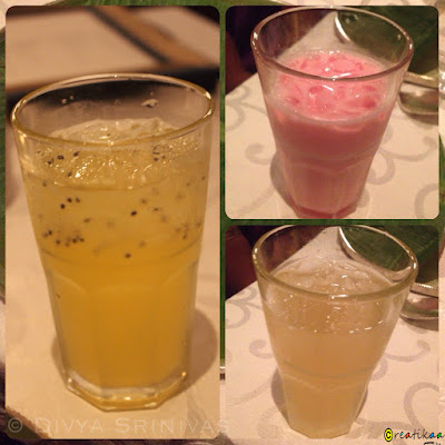 sherbet - cool drink - beyond madras - restaurant review