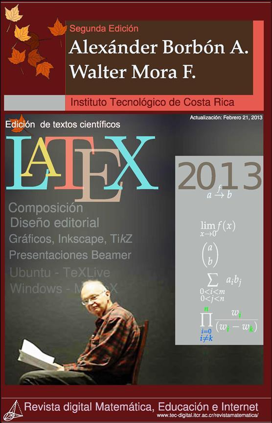 Edición de textos científicos LaTeX 2013 – Walter Mora F.