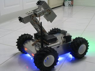 Long Range Spy Robot With Night Vision