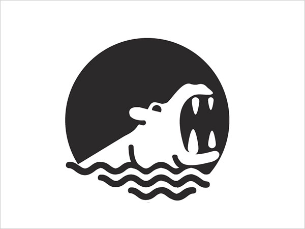 Contoh Desain Logo Negative Space - 22