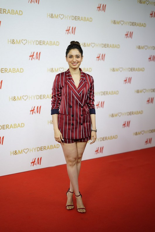 Tamannaah Bhatia At H And M Store Launch Event Stills