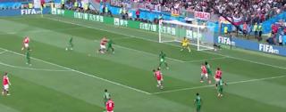 هزيمة ثقيلة للسعودية فى افتتاح كأس العالم..خسرت من روسيا بخماسية